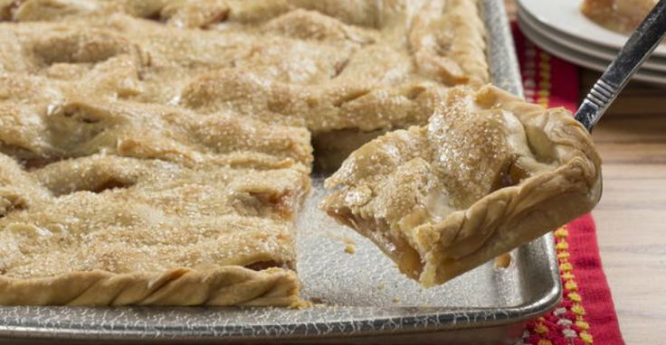 Cut Yourself Off A Hunk Of This Apple Slab Pie And Smile For Days - A Happy Recipe :) - Recipe Roost