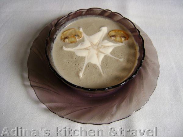 Supa-crema de ciuperci, Rețetă de Toamna07 - Petitchef