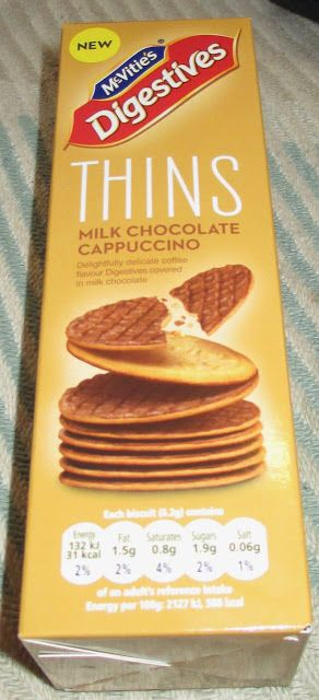 McVitie's Digestive Thins Cappuccino