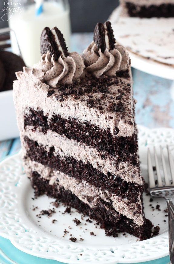 Čokoládový dort Oreo