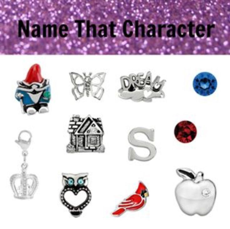 Origami Owl Name the Disney Character- Snow White