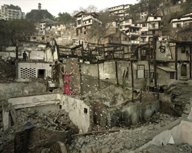 QIN WEN   秦文   Title: Old City - Feng Po Chromogenic print
