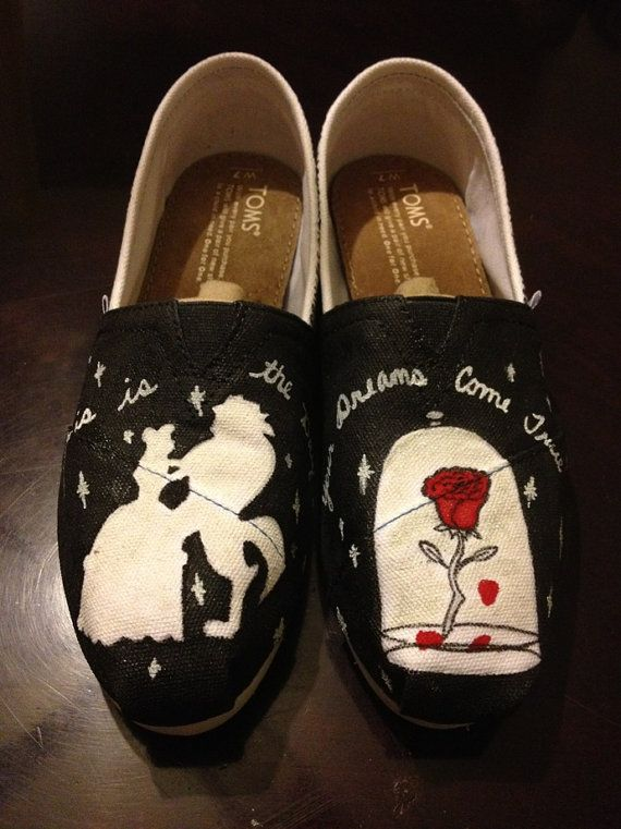 Beauty and the Beast Toms by AmbEli on Etsy