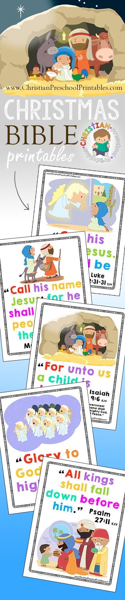 Free Christmas Bible Crafts, Christmas Activities, Christian Christmas Printables, Games, Puzzles, Lessons, Songs and more! Print what you need for your Christmas Bible Lessons. Free for Sunday School, Children's Ministry Groups, Outreach, Mission Trips and Homeschool! The free preschool printables we offer are perfect for your Christmas themed lesson planning and can easily be combined …