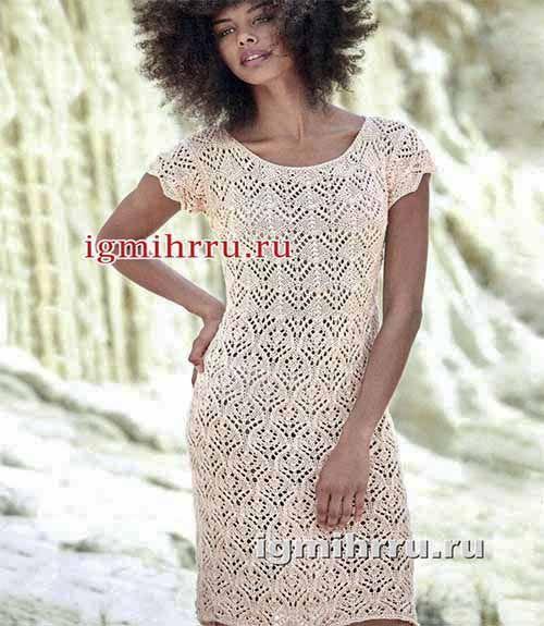 ажурное летнее платье