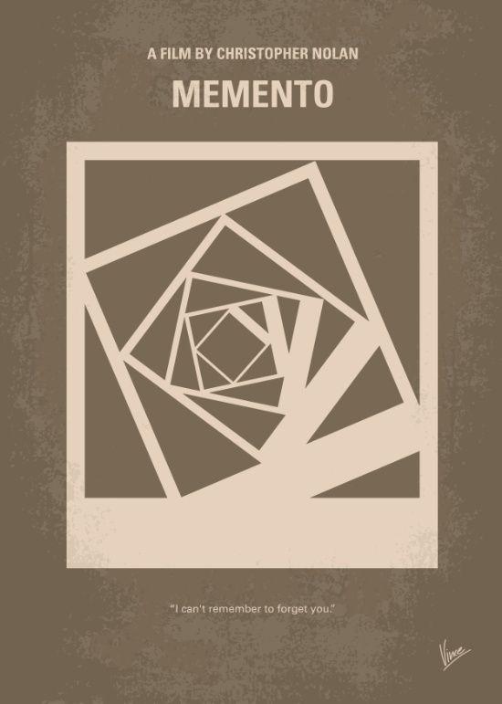 Memento (2000) ~ Minimal Movie Poster by Chungkong #amusementphile