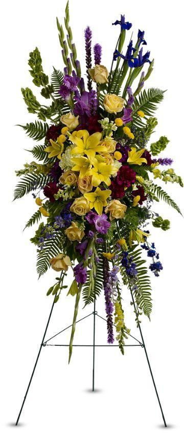 Standing Sprays | Funeral Flowers | Goodyear AZ | Thompon's Flower ...