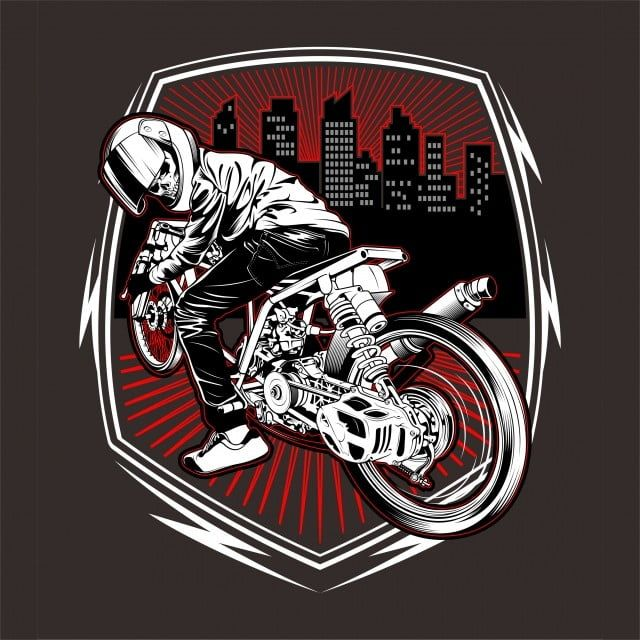 Skull Motorcycle Racing Hand Drawing Vector Motorcycle Vector Race Png And Vector With Transparent Background For Free Download In 2020 How To Draw Hands Black Background Design Vector