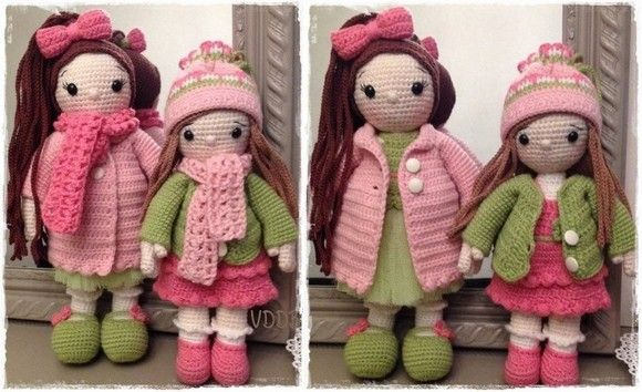 Voici les soeurs AMBRE & JADE (création personnellle)
