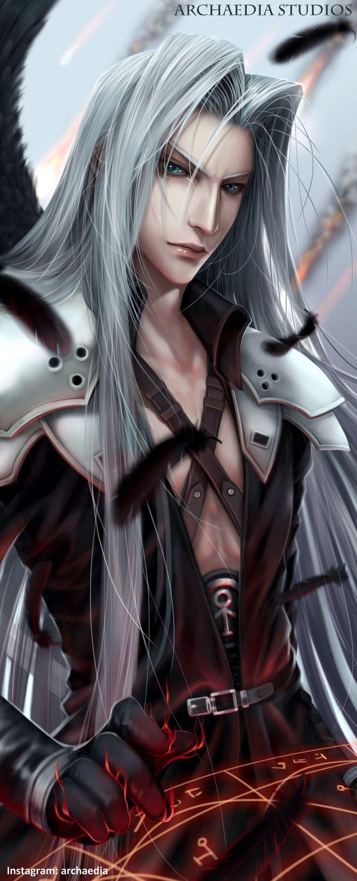 Resultado de imagem para final fantasy 7 remake sephiroth