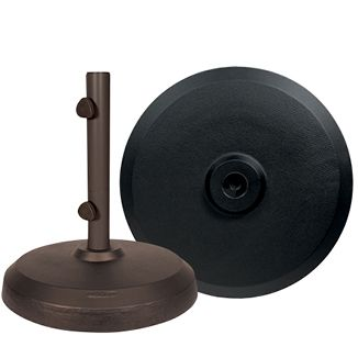 Garden Base 50lb  Bronze or Black