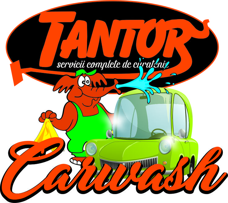 carwash logo corel