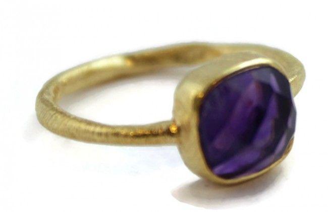 Phoebe Amethyst Ring