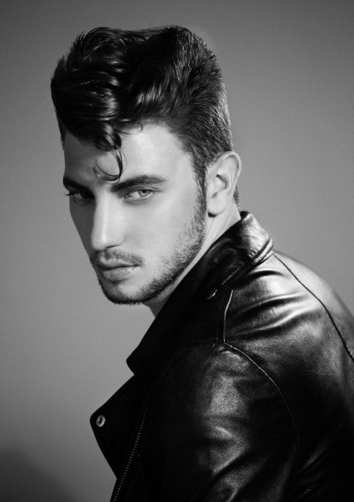 1950s 50's mens hairstyles ducktail