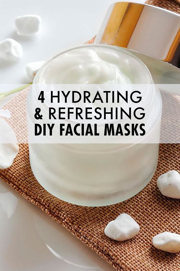 4 At Home Face Masks To Try Now! An at home face mask is a great way to keep your skin glowing, without the extreme cost of a professional facial.  Facial masks come in a variety of types, it depends on the results you're looking for. #diy #skincare #face