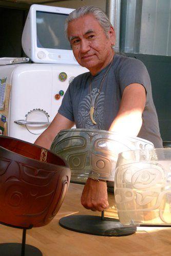 So awesome!!: Nuu-chah-nulth Grey Whale Bracelet Sculpture by Joe David / Preston Singletary