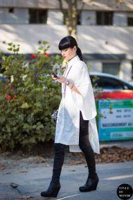 STYLE DU MONDE / Paris FW SS15 Street Style: Kozue Akimoto  // #Fashion, #FashionBlog, #FashionBlogger, #Ootd, #OutfitOfTheDay, #StreetStyle, #Style