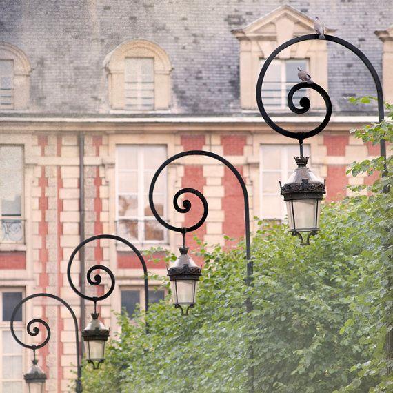 Place des Vosges, Paris, FranceArt Travel Photograph, Wall Decor