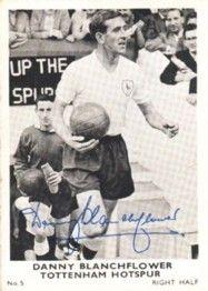 5. Danny Blanchflower Tottenham Hotspur