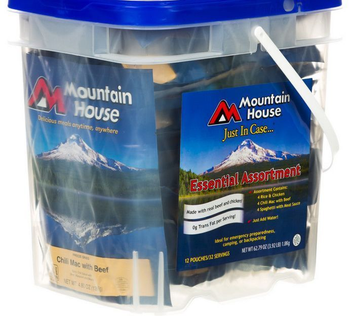 Survival Kit Mountain House Food Bucket Assorted Freeze Dried Emergency Prepare! #MountainHouse #TYPConnections