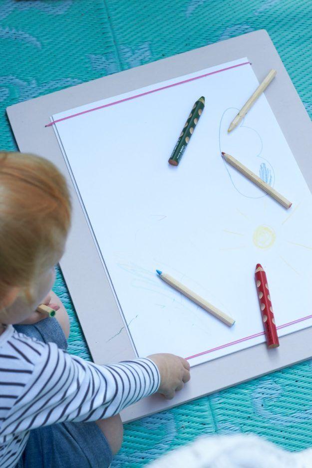"""ein DIY für ein Malbrett – auf gehts: """"Sonne malen!"""""""