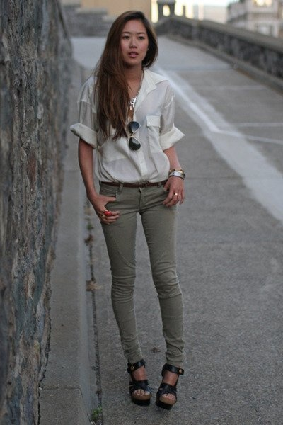 1000+ ideas about Khaki Skinnies on Pinterest