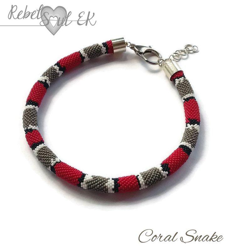 RebelSoulEK necklace coral snake red shoe animal print
