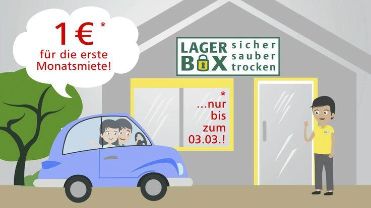 1€ für die erste Monatsmiete!!! Nur bis zum 03.03.16 gültig!! Keine Mindestmietzeit!! Nur solange der Vorrat reicht!!! http://www.lagerbox.com/lagerraum-mieten-berlin-hohenschoenhausen/