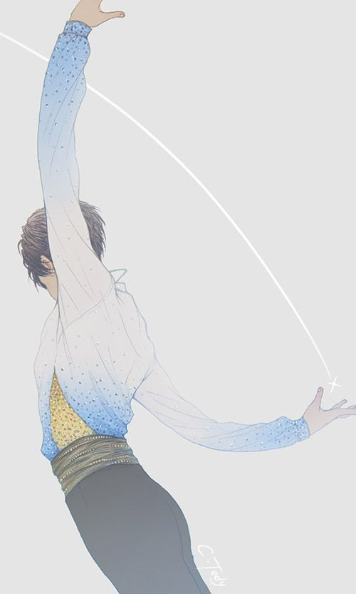 the meaning of a name, a gift first bestowed with life what to give in return? whom to give in return? of power and grace, Yuzuru Hanyu