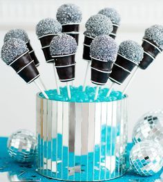 Microphone Cake Pops Recipe | Parents | Scholastic.com
