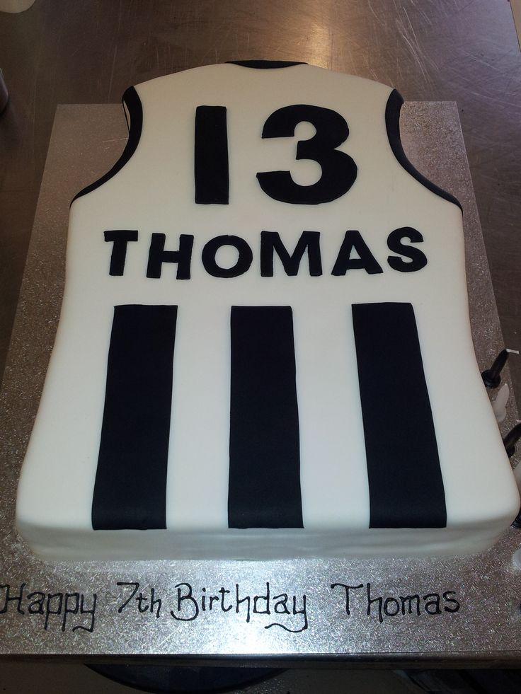 Collingwood Football Jumper Cake