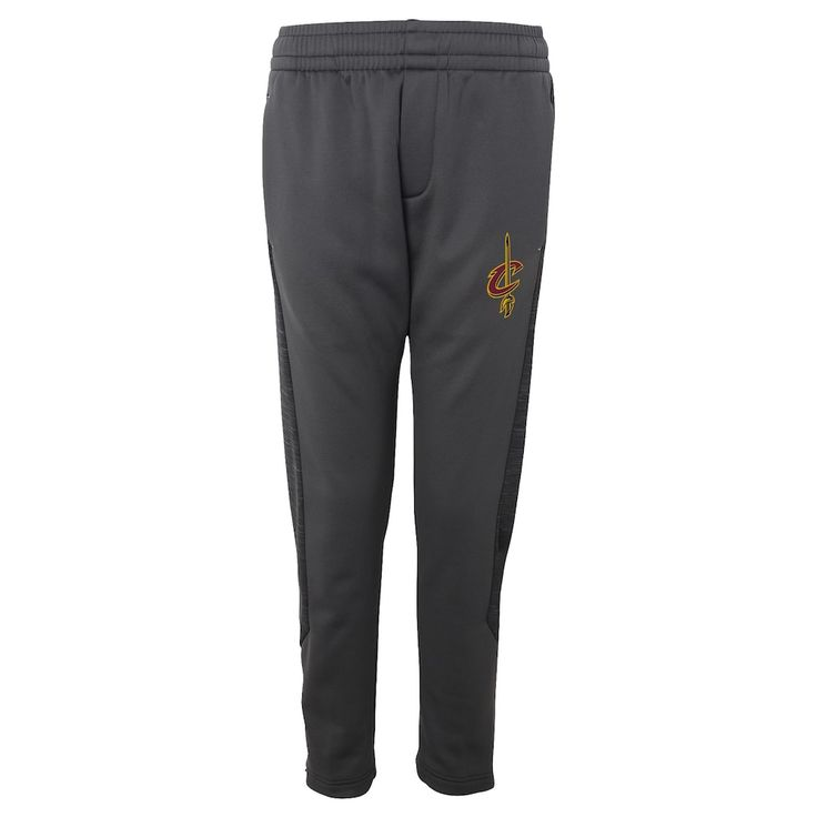 Boys 8-20 Cleveland Cavaliers Traveling Fleece Jogger Pants, Size: XL 18-20, Dark Grey