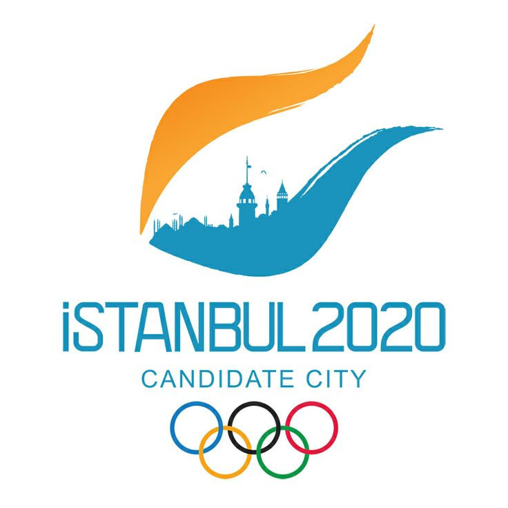 Istanbul Candidate City logo for Summer Olympics 2020