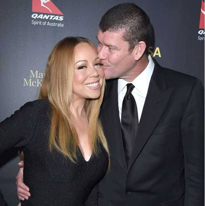 Mariah Carey finally speaks on her engagement to James Packer: ''It's So Heavy I Can't Lift My Arm'' - http://wp.me/p4MFYY-KHS