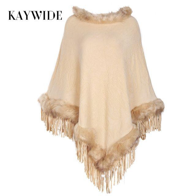 Kaywide 2017 Autumn New Knitted Women Hoodies Fashion Rabbit Hair Elegant Sexy Tassel Sweatshirts Femme Irregular Lady Pullovers #Brand #KAYWIDE #sweaters #women_clothing #stylish_dresses #style #fashion