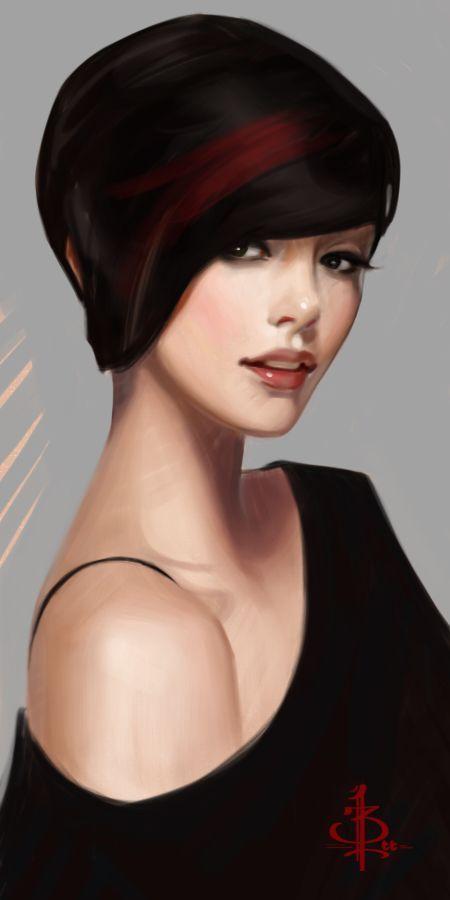 timed head sketch 1119 by FUNKYMONKEY1945 on @DeviantArt