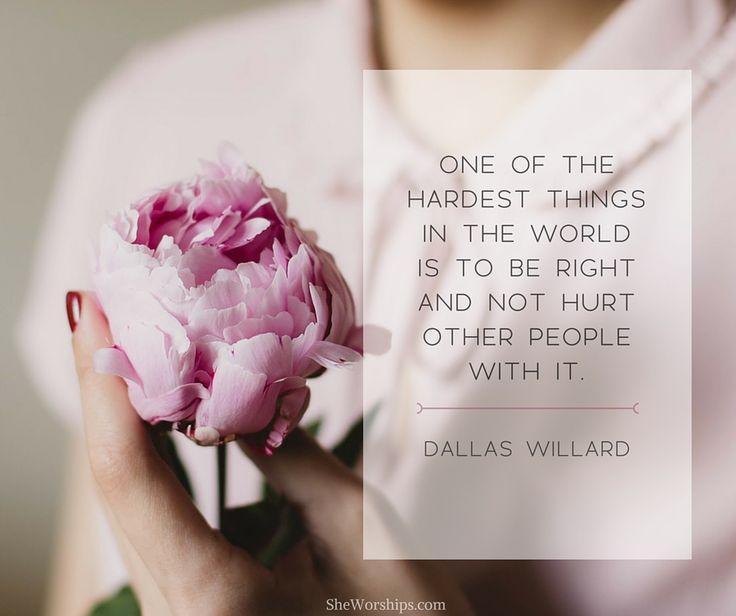 Truth from Dallas Willard