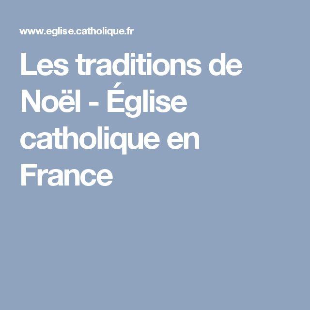 Les traditions de Noël - Église catholique en France