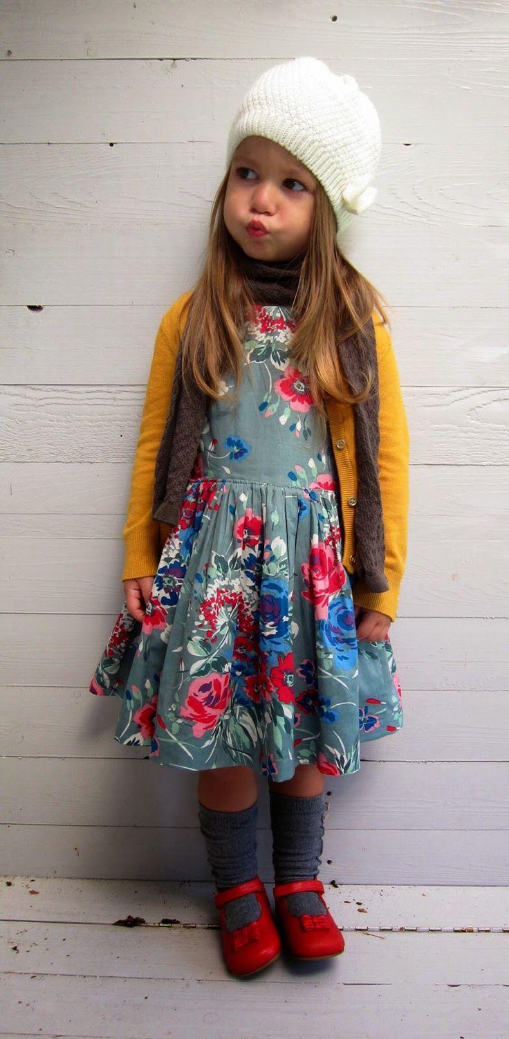 Toertjes&pateekes Great floral dress