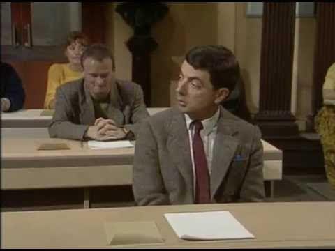 Mr.Bean Đi Thi
