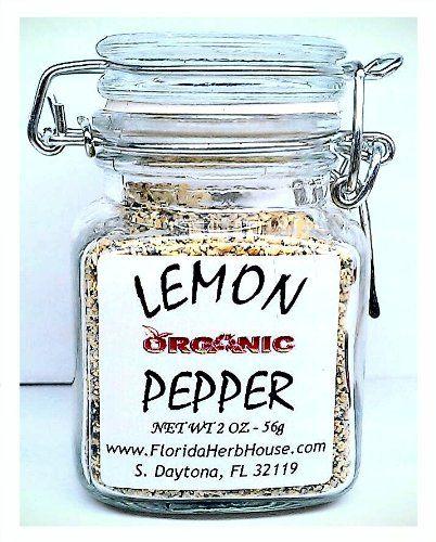 Lemon Pepper 2.0 oz. (56g) - Organic Eco Friendly Gifts! - Eco-Spices! - http://spicegrinder.biz/lemon-pepper-2-0-oz-56g-organic-eco-friendly-gifts-eco-spices/