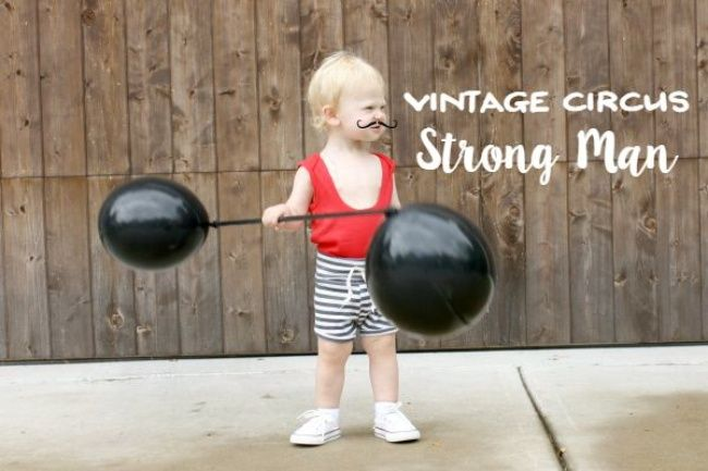 Circus Strong Man Toddler Costume