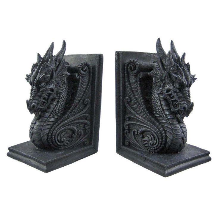 Best 25 bookends ideas on pinterest pencil holder diy love book and buy bricks - Dragon bookend ...