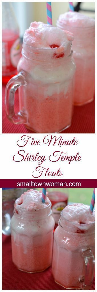 These Five Minute Shirley Temple Floats are delicious, dependable and oh so cute!  You can't go wrong!