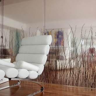 Paneles traslúcidos de eco-resina, con variados elementos en su interior.