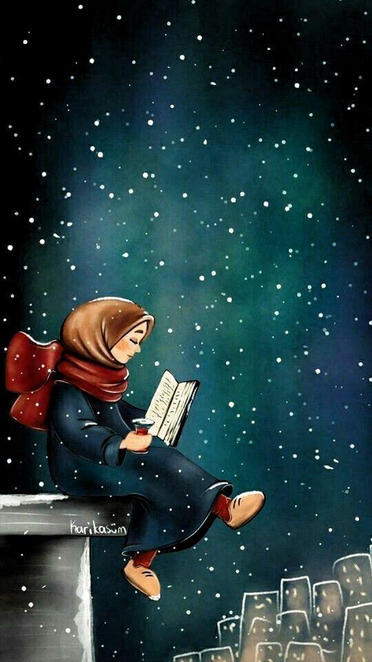 İslamic anime in 2020 | Islamic cartoon, Anime muslim ...