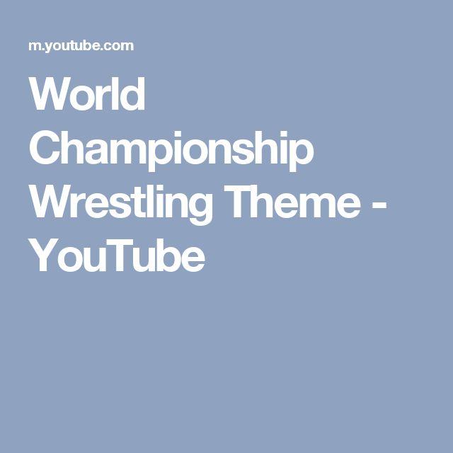 World Championship Wrestling Theme - YouTube
