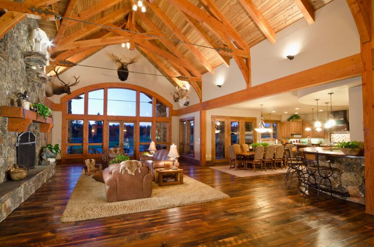 Grand Fireplace W Vaulted Ceilings Beams Open Floor: Best 25+ Cathedral Ceilings Ideas On Pinterest