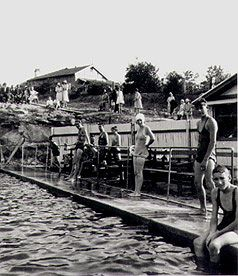 Eastwood swimming baths, Vimiera Road Eastwood : Sunday 22 March 1931