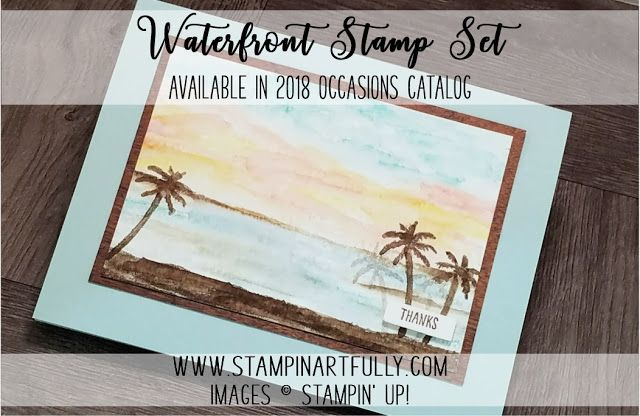 Stampin Artfully: Snowy Mountains, Beach Front Property & Stamparatus Reservation Ends Today!